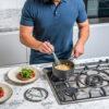 Ninja-Cookware-C30216UK-16cm-Saucepan-Stirring-Gravy1