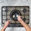 Ninja-Cookware-C30218UK-18cm-Saucepan-Poached-Eggs-BirdsEyeView