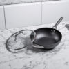Ninja-Cookware-C30928UK-28cm-Wok-Lid-Side