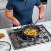 Ninja-Cookware-C30928UK-28cm-Wok-Stirring